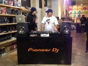 DJ Blaze and DJ Hood
