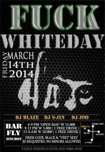 White Day Poster