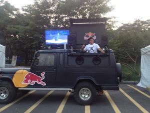 DJ Blaze, Redbull, UMF Korea