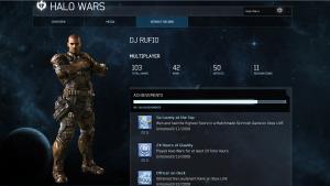 Rufio, Blaze, Halo Wars Stats