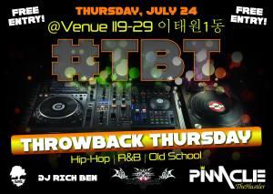 DJ Blaze, Venue, TBT