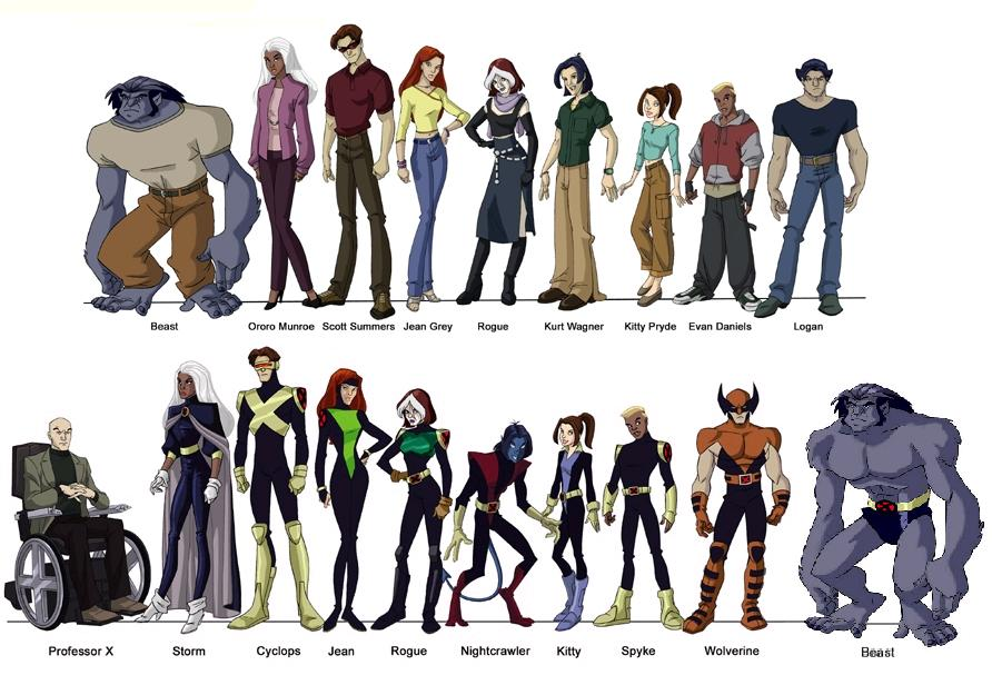 X Men Evolution Characters Profiles X-men – akadjblaze
